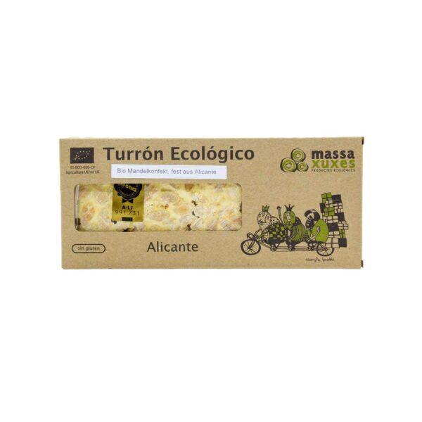 Bio-Mandelkonfekt,-Turrón-Alicante