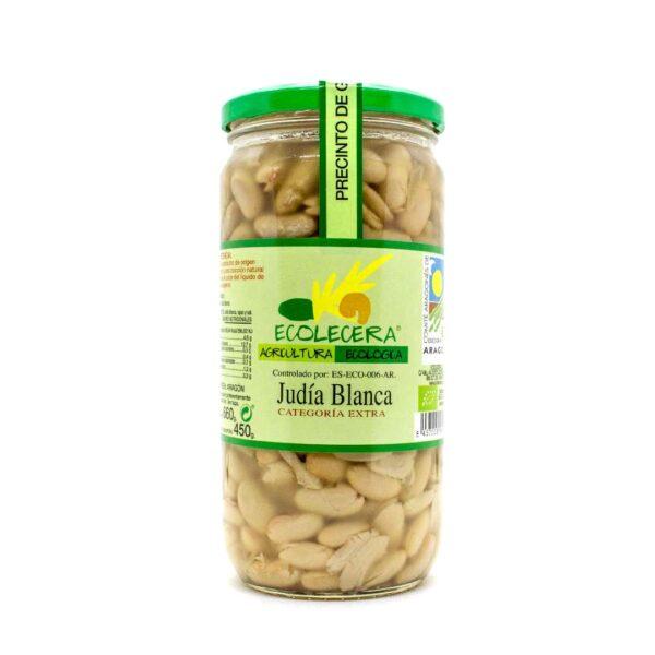 Bohne,-weiß,-kleine-Nierenbohne,-660g,-Ecolecera,-gekocht-im-Glas