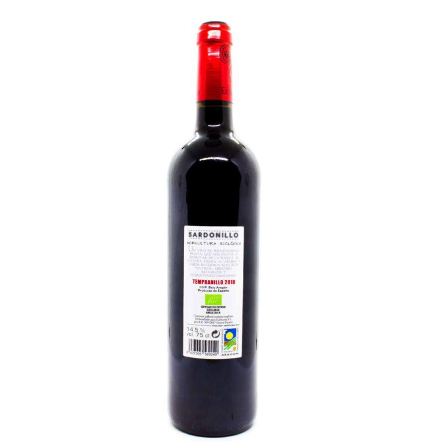 Rotwein-Garnacha,-Junger-Wein,-Bio,-Vegan