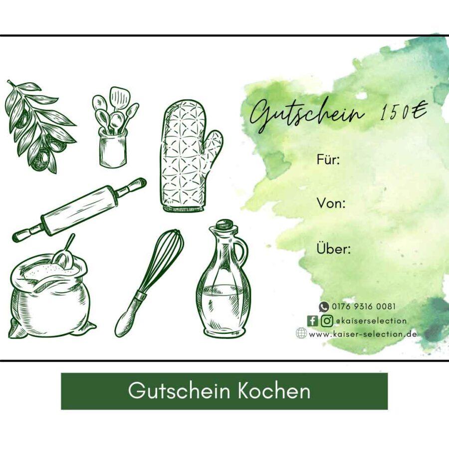 Gutschein-Kochen
