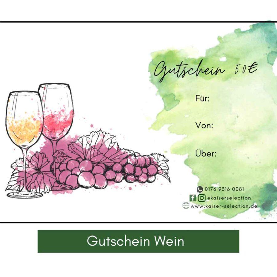 Gutschein-Wein